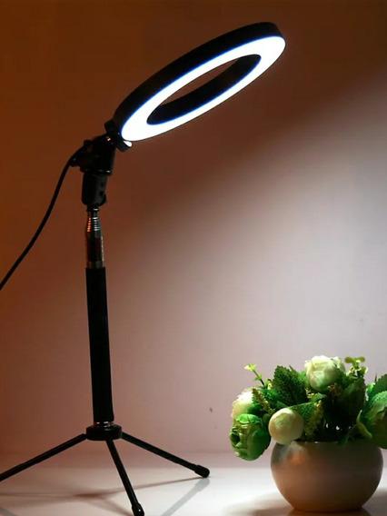 Estúdio De Fotografia Com Luz De Led