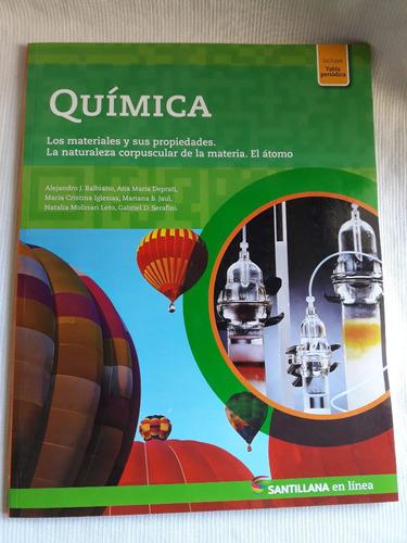 Imagen 1 de 4 de Quimica Materiales Y Sus Propiedades Santillana En Linea