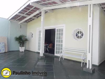 Casa Na Praia De Peruíbe, Litoral Paulista, Com 2 Dormitórios Com Churrasqueira - Ca02379 - 3506376