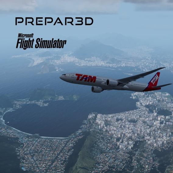 Boeing 777-2 E 777-3 Pmdg Para Fsx/prepar3d V4/v5. Aeronave)