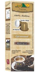 Cafe Pedra Redonda Capsula Gourmet Intenso Para Nespresso