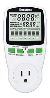 Ensupra Electricity Usage Monitor Medidor De Potencia Reduzc