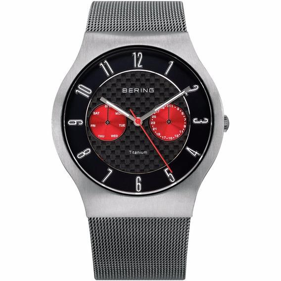 Relógio Bering Time Super Slim Titanium 11939-079
