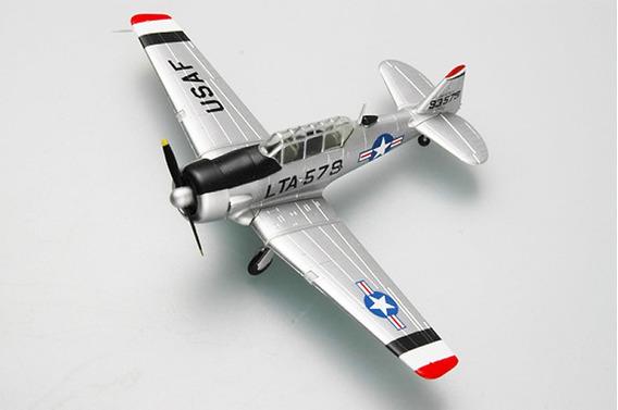 Miniatura Pronta Aviao Na T-6 Easy Model 1/72