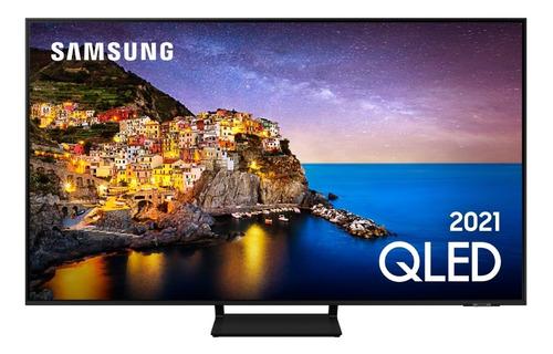 Imagem 1 de 10 de Smart Tv 55  Samsung Qled 4k 55q70a Modo Game Processador Ia