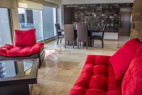 Departamento Amueblado En Renta Torre Palmira $28,000 San Luis Potosí