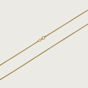 Cordão Em Ouro 18k Feminino Palmeira 40cm