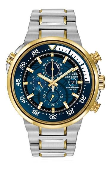 Reloj Citizen Eco-drive Hombre Cronógrafo 46 Mm Ca0444-50l