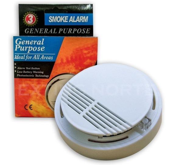 Alarma Sensor Detector De Humo Autónomo Hogares Empresas