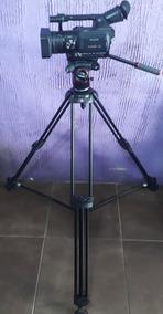 Filmadora Panasonic Hvx200 +tripé Manfrotto Nitrotech N8