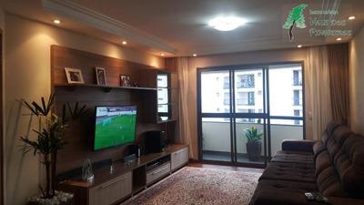 Apartamento Com 3 Dormitórios À Venda, 117 M² Por R$ 480.000 - Chácara Agrindus - Taboão Da Serra/sp - Ap0632