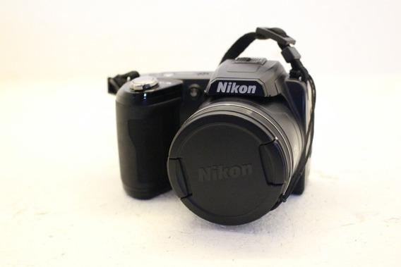 Câmera Semi Profissional Nikon Coolpix 110 + 8gb