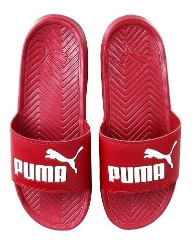 Chinelo Slide Puma Popcat Vermelho - Original