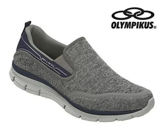Tênis Olympikus Masculino Welness S/cadarço Caminhada Origin
