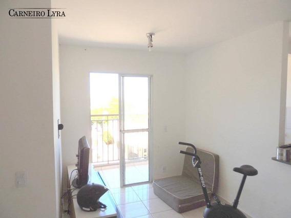 Aceita Financiamento! Apartamento Com 2 Dormitórios À Venda Por R$ 160.000 - Jardim Olímpia - Jaú/sp - Ap0535