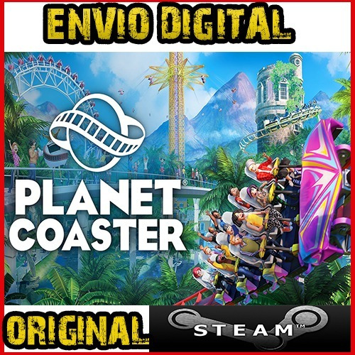 Planet Coaster Original Steam Offline - Envio Imediato!