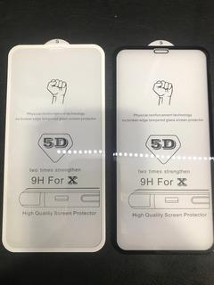 10 Pelicula 5d/3d iPhone X, Xs No Atacado Lote