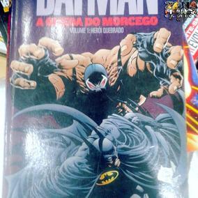 Batman A Queda Do Morcego Volume 1 Herói Quebrado Panini