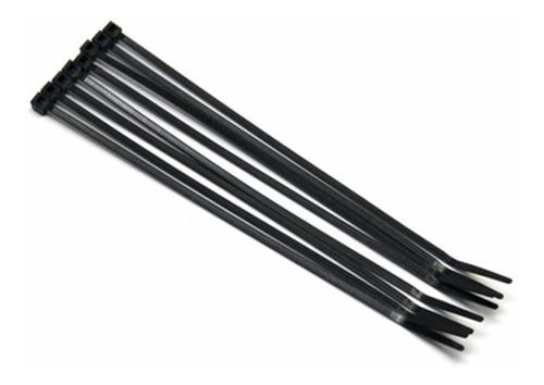 Amarres Plásticos Correa Abrazadera Plásticax100 Negra 30cm