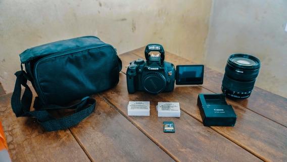 Canon T5i + 18-135mm + Bolsa + Cartão 8gb + A Vista 1899,00