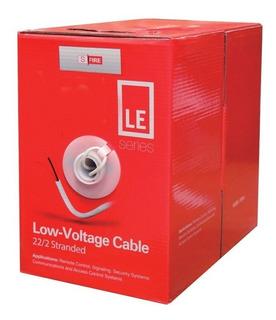 Bobina Sfire Cable 22 Awg 2 Conductores P/ Alarmas Interfon