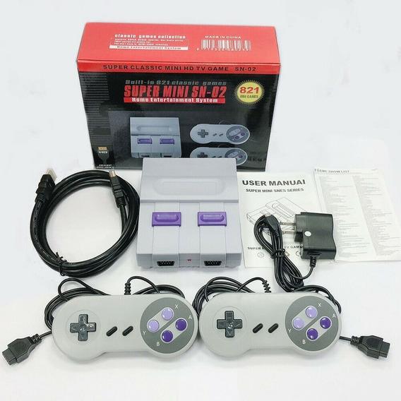 Videogame (nao Eh Nintendo) Super Nes 821 Jogos