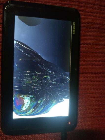 Tablet Genesis Gt-7204 ( 7 ) Funcionando /quebrou A Tela