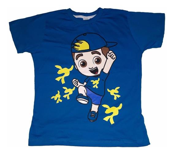 Camiseta Infantil Masculina Lucas Neto Lançamento Promoção