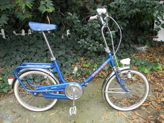 Bicicleta Plegable Rod 20 Bianchi Italiana Coleccion