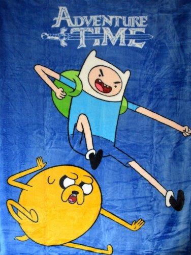 Adventure Time Alta Pila Manta Twin 60x80 Sky Kick