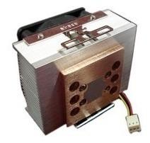 Lote 05 Un Akasa Ak-795 Cobre Cooler Intel Amd 5000rpm Promo