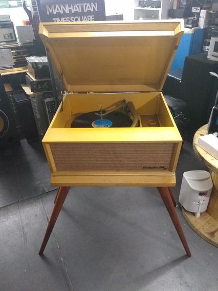 Vitrola Columbia Valvulada Toca Disco N Marantz Technics Rca