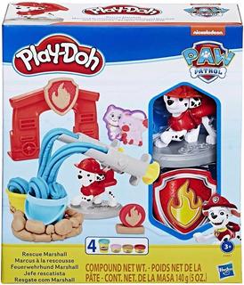 Play Doh Paw Patrol Marshall Jefe Rescatista Hasbro