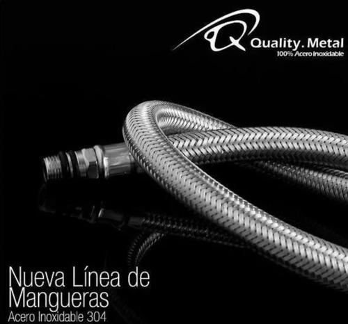 Canilla Lavamanos Fregadero Quality Metal 1/2x3/8 60cm
