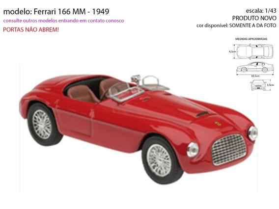 Atlas 1//43 Ferrari Car 166 MM