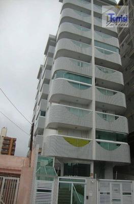 Apartamento Em Praia Grande,01 Dormitório. Portaria, Elevador, Salão De Festas Na Guilhermina Ap1663 - Ap1663