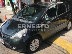 Honda Fit Lx 1.4 Nafta Verde 2008 Manual Aire Financio