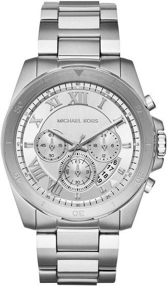 Relógio Michael Kors Masculino Brecken Cronógrafo Mk8562/1kn