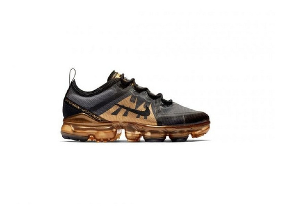 Nike Air Vapormax 2019 Black/ Black-metallic Gold