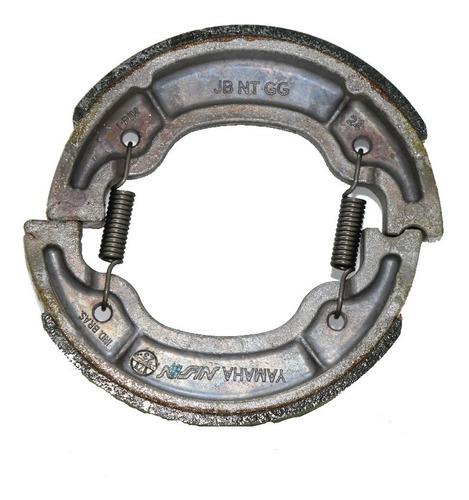 Imagem 1 de 3 de Sapata De Freio Completa  Yamaha