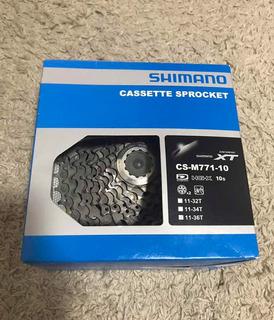 Cassette Shimano Xt M771 10v