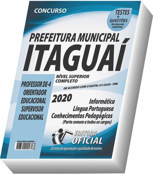 Apostila Itaguaí - Nível Superior - Educação - Frete Grátis!