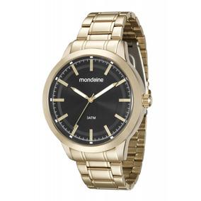 Relógio Mondaine Dourado Masculino 99132gpmvde2