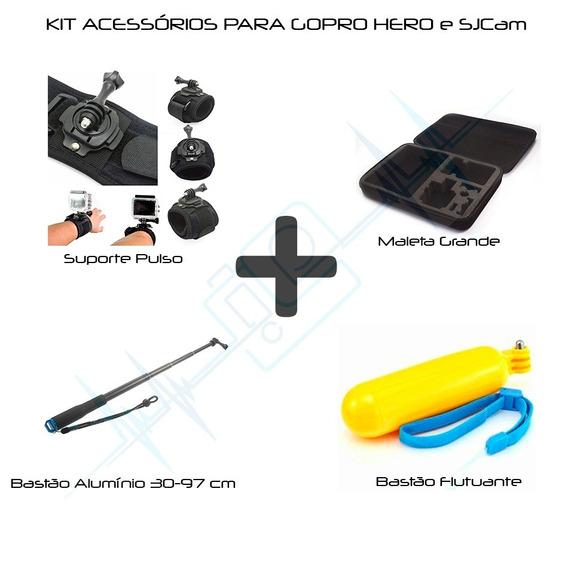 Kit De Acessórios Gopro Go Pro Hero Maleta Case G 6/5/4/3