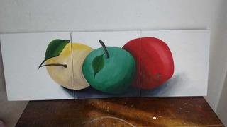 Cuadros Decorativo Manzanas