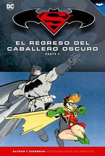 Colección Novelas Salvat Tapas Duras Batman Y Superman Num6