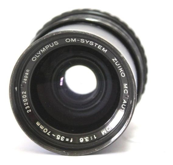 Lente Olympus 35-70mm Japan Retro Coleção Retirada De Peça