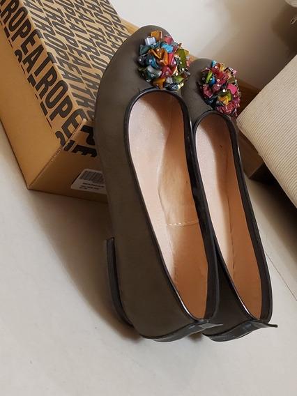 Zapatos De Mujer, Chatas. Talle 37. Tropea