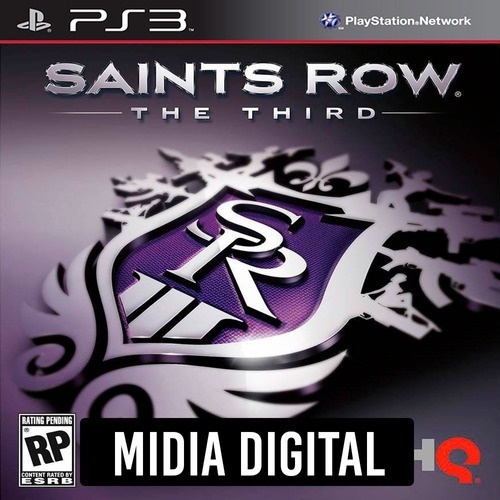 Saints Row The Third - Ps3 Psn*