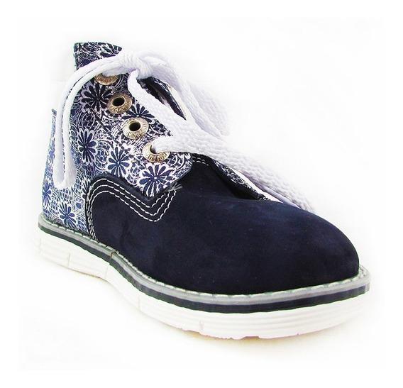 Zapatos Para Niñas Pocholin Botas Casuales Estampadas